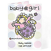Personalised Bang on the Door Baby  Card