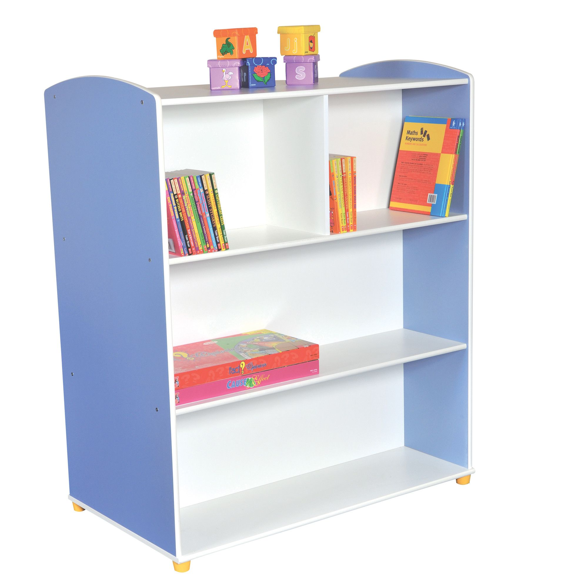 Liberty House Toys Elite Double Sided Straight Unit with 3 Shelves at Tesco Direct