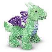 Melissa & Doug Zephyr Green Dragon Soft Toy