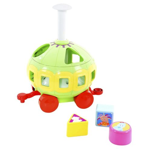 In the Night Garden Spinning Shape Sorter Carriage