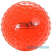 Mazon Club Dimpled Hockey Balls - Orange x 12