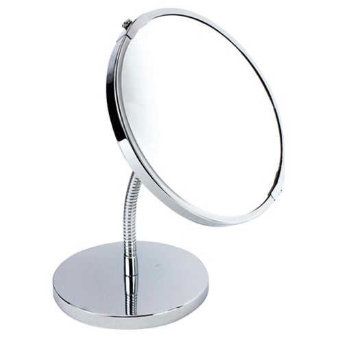 Tesco Chrome Pedestal Mirror