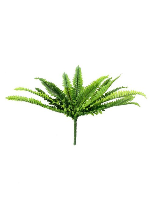 buy artificial 30cm boston fern plug plant from our. Black Bedroom Furniture Sets. Home Design Ideas