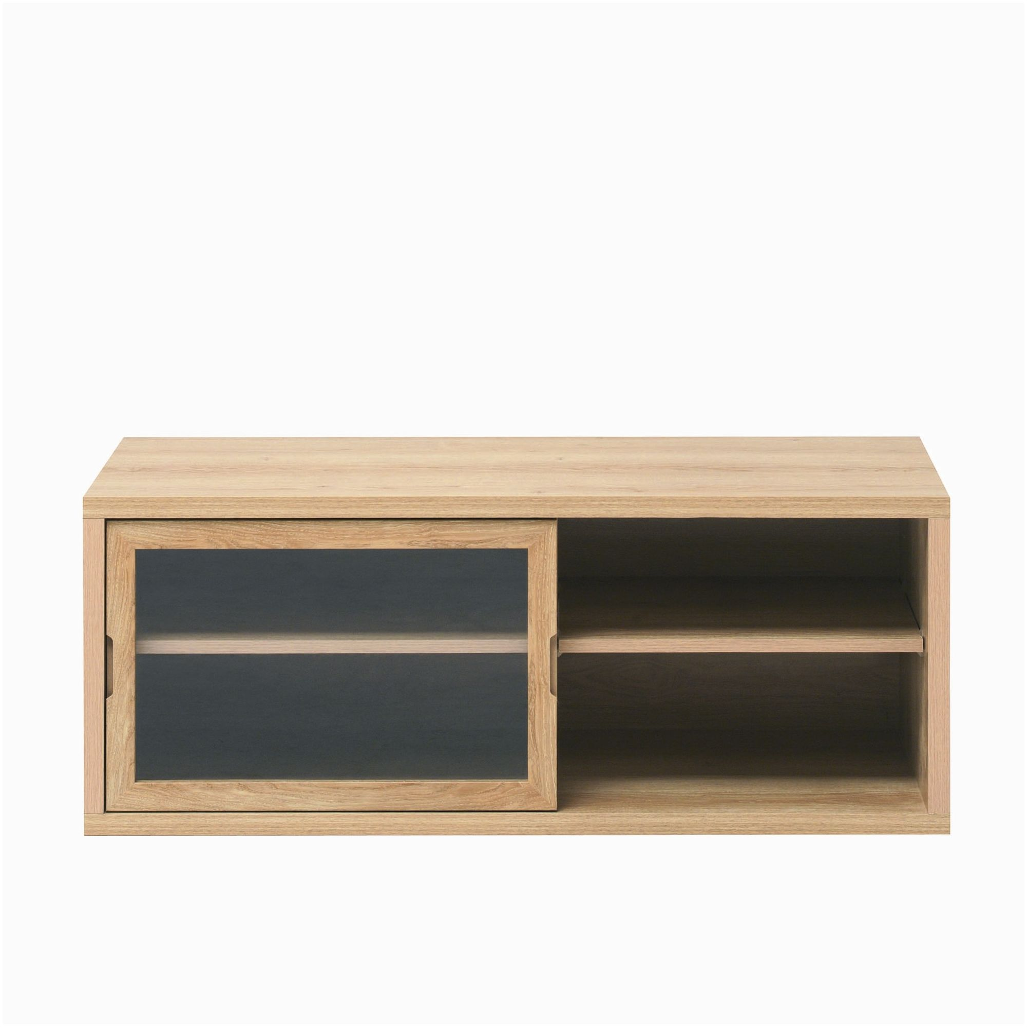 Caxton Darwin Narrow Entertainment Cabinet in Chestnut at Tescos Direct