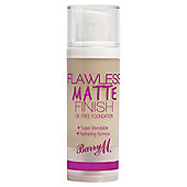 Barry M Flawless Matte Finish Oil Free Foundation 1 Ivory 30G