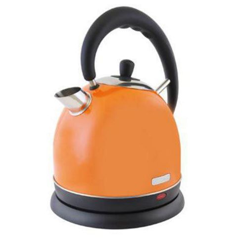 Lloytron E1509TG 1.8 litre 3kw Cordless Domed Kettle - Orange