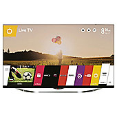 LG 49UB850V 49 Inch 3D Smart WebOS WiFi Built In Ultra HD 4K LED TV with Freeview HD - Silver