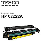 Tesco - HP Color Lj Ce252A Cart - Yellow