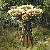 Sunflower Birdbath Water Feature