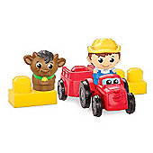 Mega Bloks First Builders Block Buddies Lil' Farm Pack