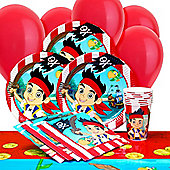 Jake & The Neverland Pirates Party Pack For 8