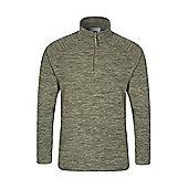 Mountain Warehouse Snowdon Mens Micro Fleece - Green