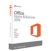 Microsoft Office Home and Buisness 2016 for Windows, English