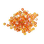 Czech Seed Bead 6/0 S/L Orange Mix