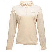 Regatta Ladies Sweethart Half Zip Fleece - Cream