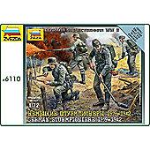 Zvezda - German Sturmpioniere 1939-1942 Scale 1/72 6110