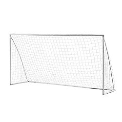 Woodworm 12' X 6' Portable Plastic Football Goal Inc. Net