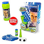 Messi Footbubbles Foot Bubbles Starter Pack (Blue Socks) Extra Refill Included