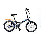 Universal Wayfarer 20inch Folding Bike - Navy