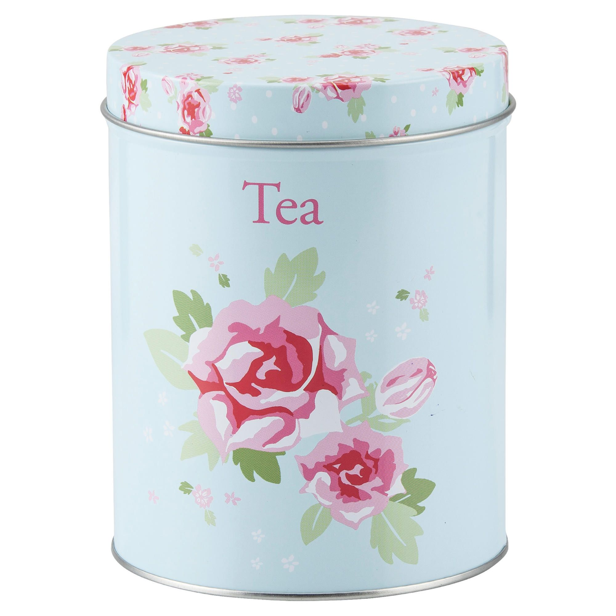 Myshop - Pink tea and coffee canisters ...