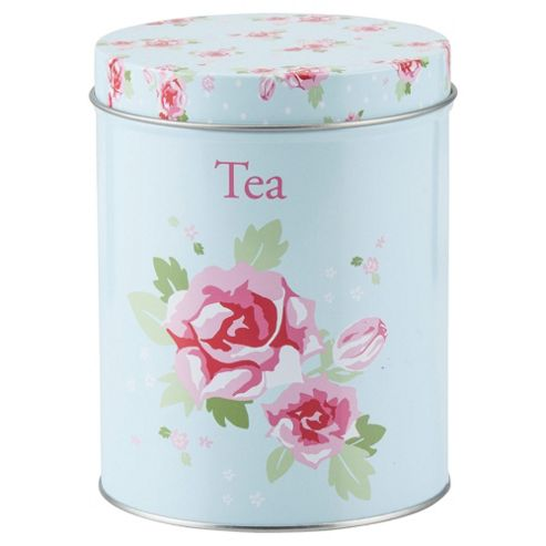 Tesco English Rose Tea Canister