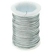 Brass Wire - 34 gauge - Silver 24yds
