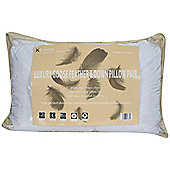 KLiving Pair of Goose Feather Pillows White
