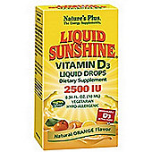 Natures Plus Liquid Sunshine Vit D3 2500iu 10ml Liquid
