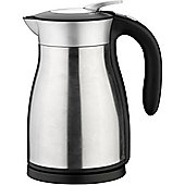 Vektra by Grunwerg Vacuum Electric Kettle, 1.2L in Stainless Steel