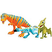 Dinosaur Train - Boris, Oren and Mrs Pteranodon 3 Figure Pack