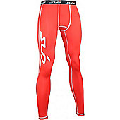 Sub Sports Dual Leggings - Red