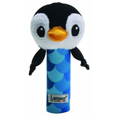 Lamaze Contrast Bend & Squeak Penguin