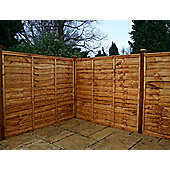 Mercia Waney Edge Fencing 7 Panel and Post Pack