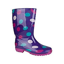 Mountain Warehouse Rain Spot Womens Wellies ( Size: 6 )