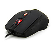 OZONE Xenon 3500DPI Ambidextrous Optical USB Gaming Mouse - Black