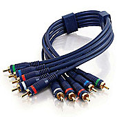 Cables to Go 2 m Velocity Component Video RCA Type Audio Combination Cable