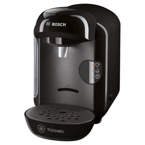 buy bosch tassimo vivy tas1202gb t12 coffee machine black from our pod machines range tesco. Black Bedroom Furniture Sets. Home Design Ideas