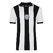Newcastle United 1976 Home Shirt - Black & White