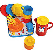 Gowi Toys 454-15 Coffee Service (Blue - 18 Piece Set)