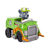 Paw Patrol Nickelodeon Paw Patrol Racers Rocky Small Vehicle