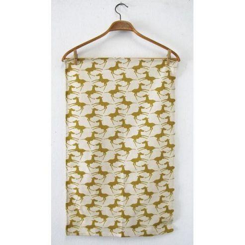 Skinny Laminx Tea Towel Colts Gold