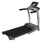Life Fitness F3 Folding Treadmill with Track console