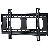 Fixed Super Thin Wall Mount Bracket - Black 24 inch - 42 inch TVs