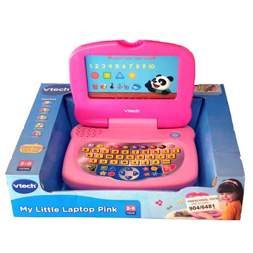 My Little Laptop-Pink