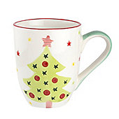 Christmas Tree Ceramic Mug