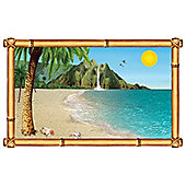 Scene Setters Tropical Beach Instant View (each)