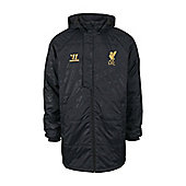 2013-14 Liverpool Warrior 3rd Stadium Jacket (Black) - Black