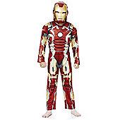 Marvel Iron Man Dress-Up Costume - 5-6 yrs