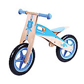 Bigjigs Toys BJ774 My First Balance Bike (Blue)