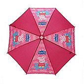 Character Peppa Pig Pink 'Splat' Nylon Umbrella